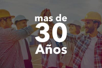 30+ Años de Experiencia